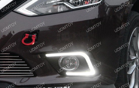 Nissan Sentra LED Daytime Running Light 06