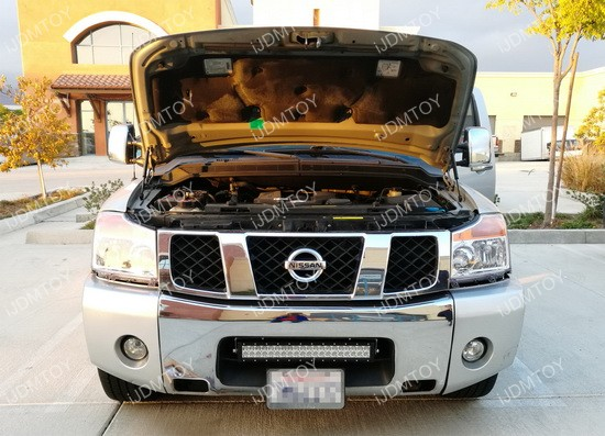 2003 2015 nissan titan led light bar ijdmtoy blog for automotive nissan titan led light bar mozeypictures Image collections