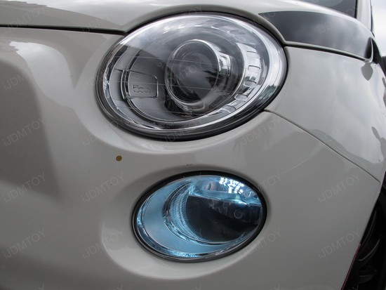 Fiat 500 LED Daytime Running Light Bulbs 2