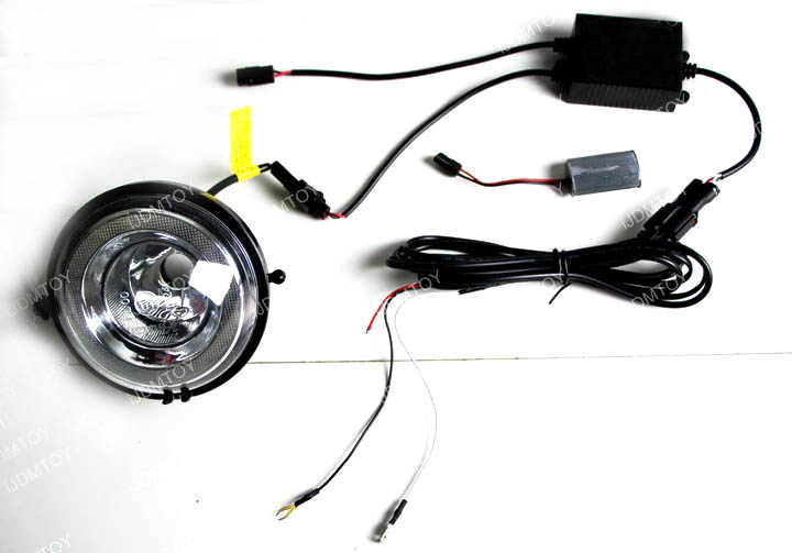 MINI Cooper LED DRL Install 10
