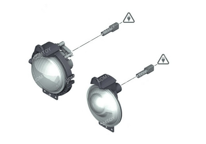 MINI Cooper LED Rally Lights 09