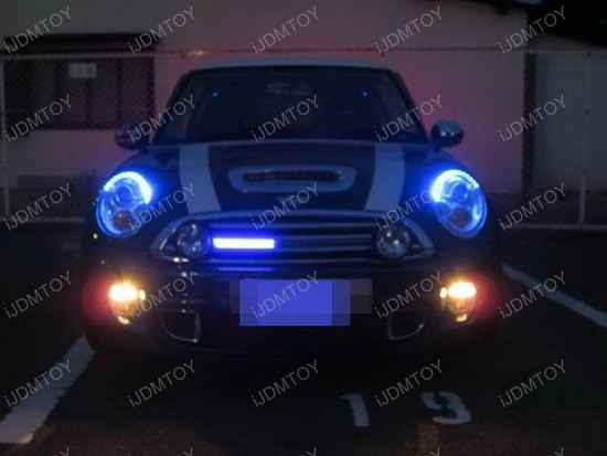 Mini Cooper Audi Style LED Strips 3