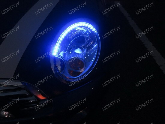 Mini Cooper LED Strips for Headlights 2