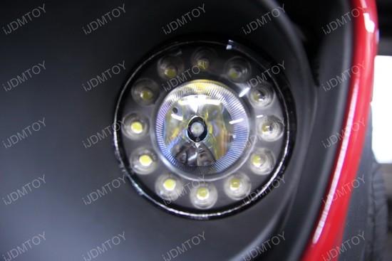 Mini Cooper LED DRL fog 01