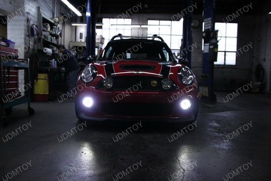 Mini Cooper LED DRL fog 02