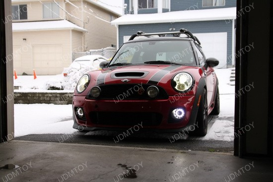 Mini Cooper LED DRL fog 04