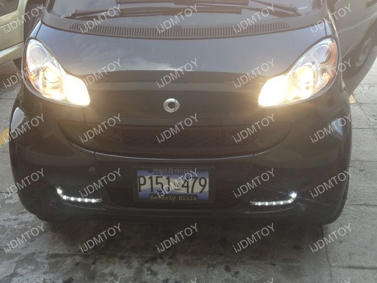 Smart Fortwo LED DRL 04