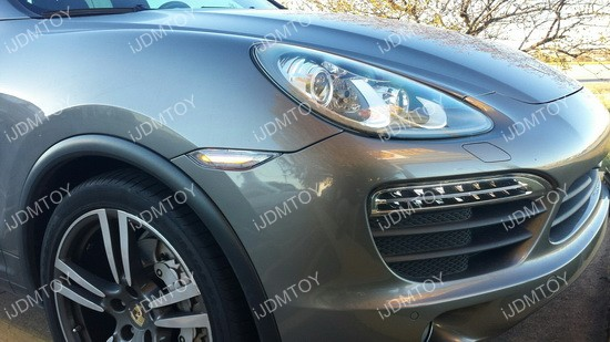 Porsche Cayenne LED Sidemarker Lights 09