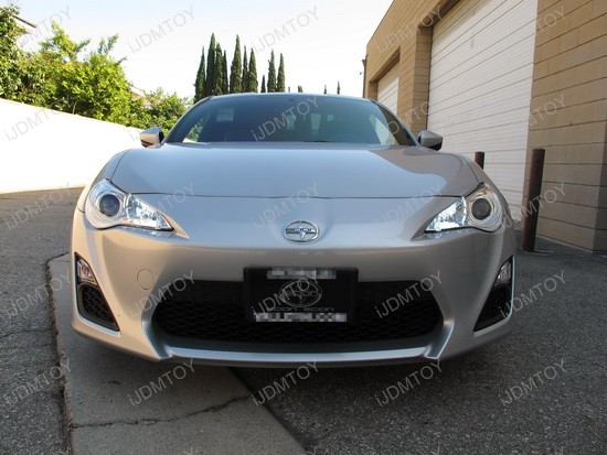 Scion FR-S 9005 LED Daytime Running Lights 4