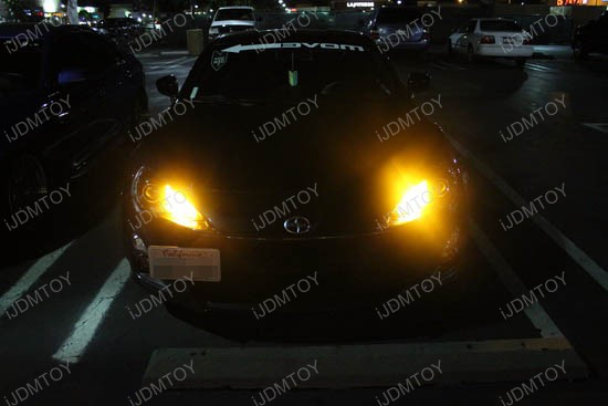 Scion FR-S 9005 LED DRL Bulbs 2