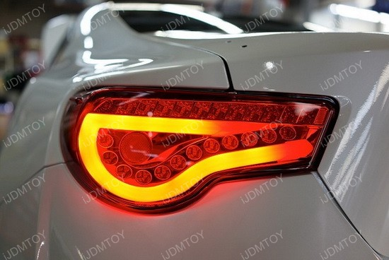 Scion FR-S Fiber Optics LED Tail Lights