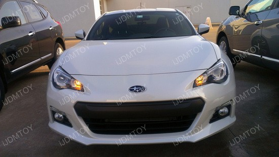 Subaru BRZ LED 7440 Turn Signal 01