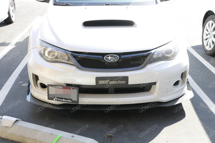 Subaru WRX license plate tow hook 14