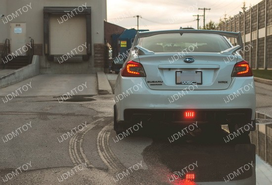Subaru WRX LED Rear Fog 01