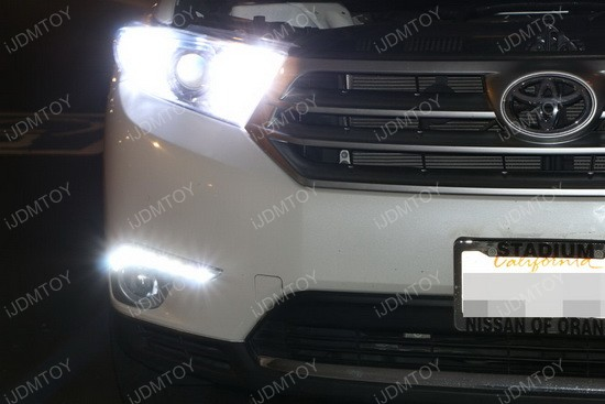 Toyota Highlander LED Daytime Lights 02