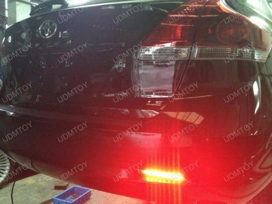 2009 Toyota Venza LED Bumper Reflectors 2