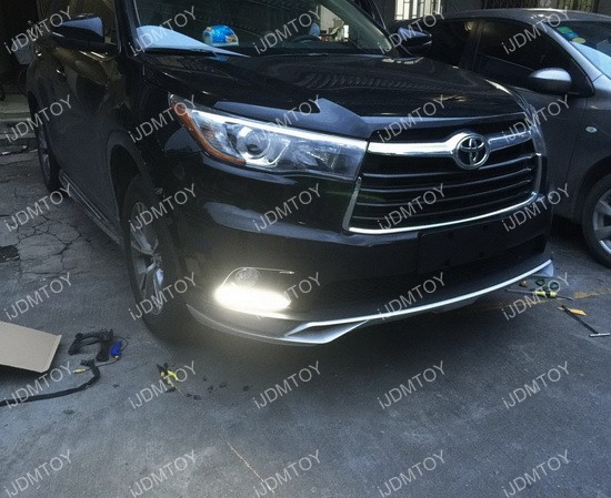 Toyota Highlander LED DRL 07