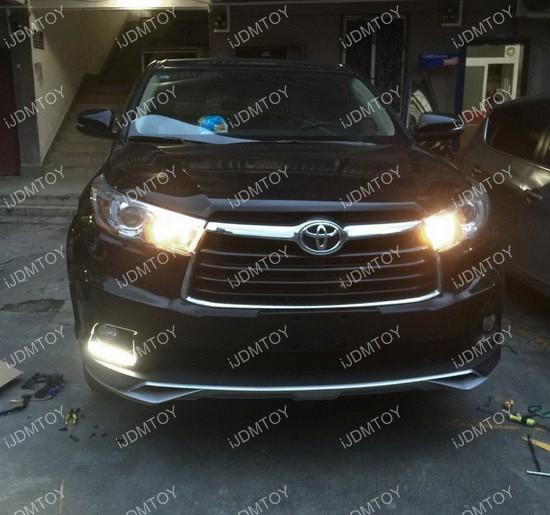 Toyota Highlander LED DRL 08
