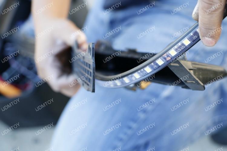 Toyota Tundra LED Hood Bulge Strip 22