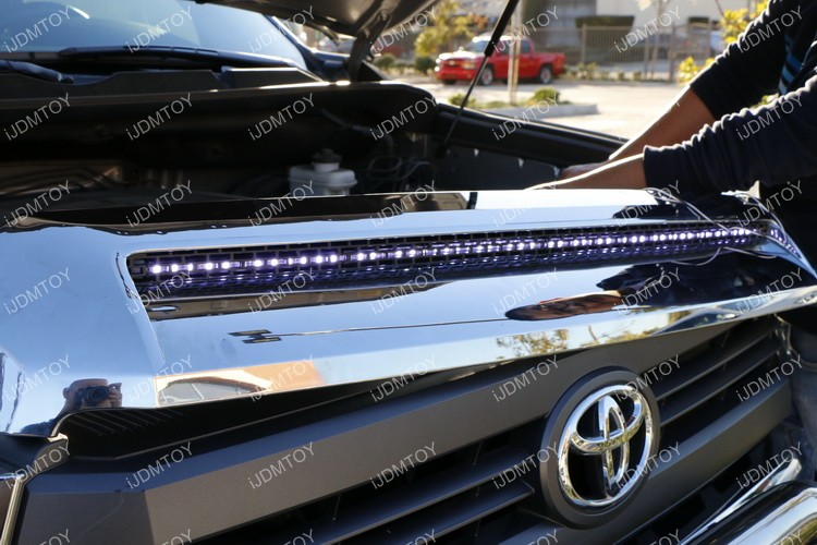 Toyota Tundra LED Hood Bulge Strip 37
