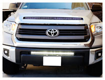 How to Install Toyota Tundra LED Light Bar