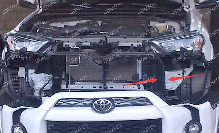 Install Toyota 4Runner LED Light Bar