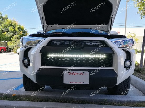 35 958a likewise 521925044287720117 also 154308 Scooter Racing together with VW T5 Transporter Mr Grey Raceline Edition likewise Toyota 4runner Led Light Bar. on behind grill led lights