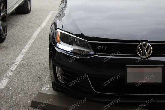Volkswagen Jetta GLI LED Daytime Running Lights 3