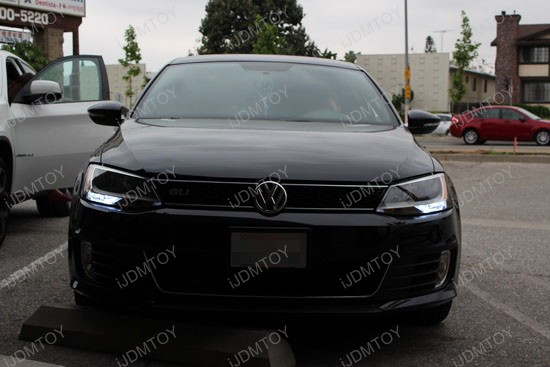 Volkswagen Jetta GLI LED Daytime Running Lights 4