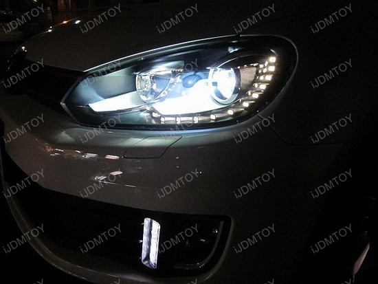 Exact Fit Volkswagen GTi LED DRL Kit 2