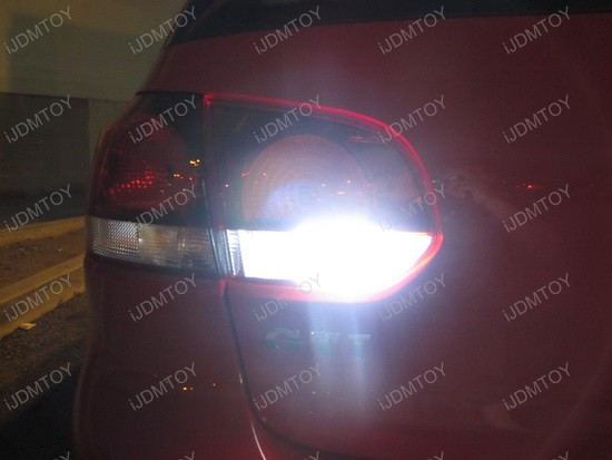Volkswagen GTi Error Free 7440 LED Backup Reverse Lights 3