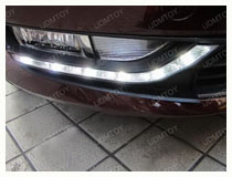 Volkswagen Passat OEM Fit LED DRL Installation (For 70-724)