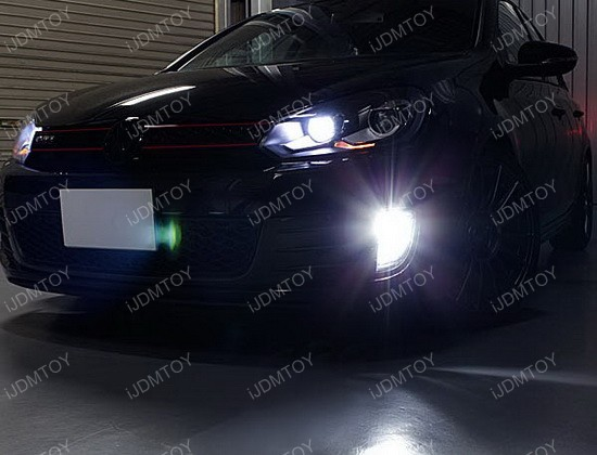 Volkswagen GTi Fog Light Conversion 04