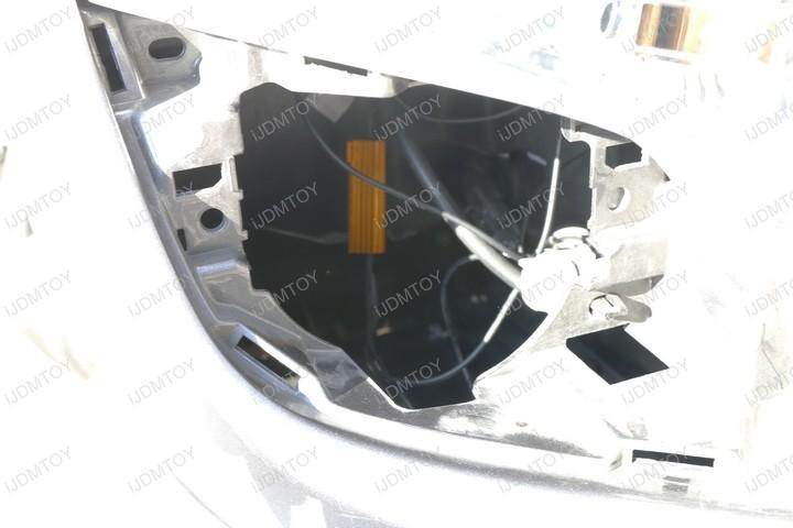 Switchback Xenon White Amber Yellow LED DRL Turn Signal Light Bulbs
