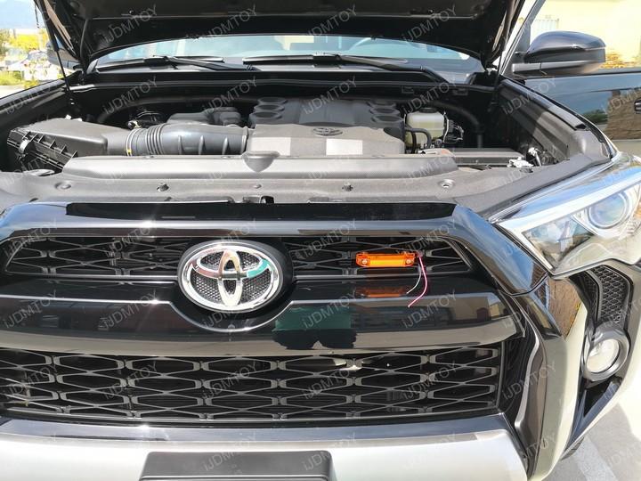 Toyota Tacoma 4Runner TRD Pro Amber LED Grille Marker Light