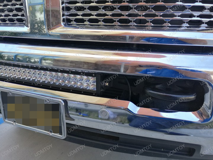 Dodge RAM LED Light Bar Install 07