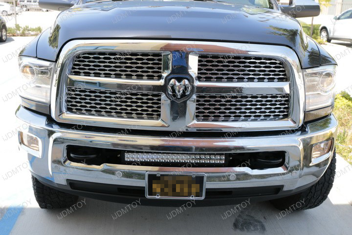 Dodge RAM LED Light Bar Install 09