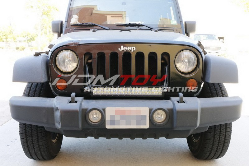 Jeep-Wrangler-LED-Lightbar-wo-Bumper-Mod