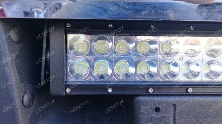 Install Ford F250 F350 Super Duty 84W LED Light Bar