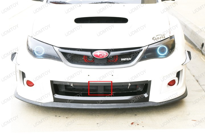 Subaru Impreza WRX STi WRC World Rally Style 144W High Powered Double Row LED Light Bar