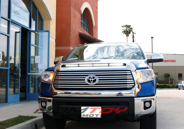2014 and up Toyota Tundra Hood Bulge LED Light Bar