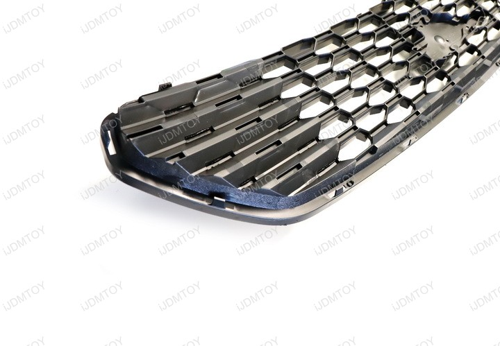 Install Ford F150 Raptor Invisible Discreet OEM Grille Mount High Power LED Light Bar