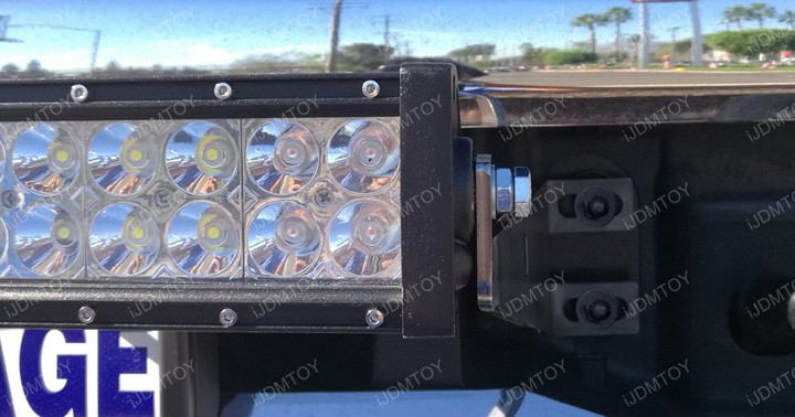 2017-up Ford F250 F350 Superduty 20 Inch 120W LED Light Bar Install Guide