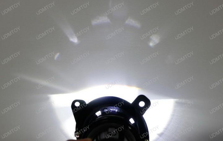 OEM Replacement HID Ready Retrofit Fog Light Lamps Porjector Lens BMW 2 3 4 Series