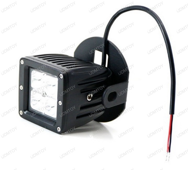 Ford F150 Lower Bumper 40W CREE LED Cubed LED Fog Pod Light Lamps