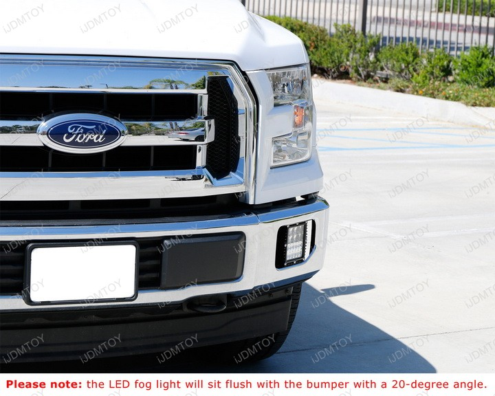 100W Q-5 High Power Combination Combo Beam Hyperspot LED Fog Light Lamp for Ford F150