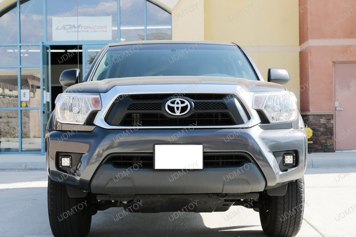 40W CREE Cubic Cubed LED Pod Fog Light Lamp for 2012-2015 Toyota Tacoma