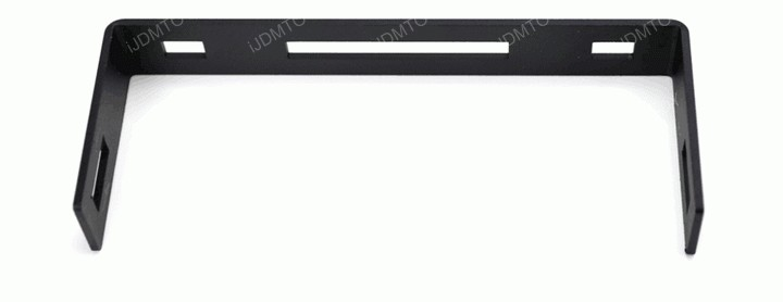 Install Rear Lower Bumper Ford F250 F350 Super Duty Dual 36W Double Row LED Light Bar
