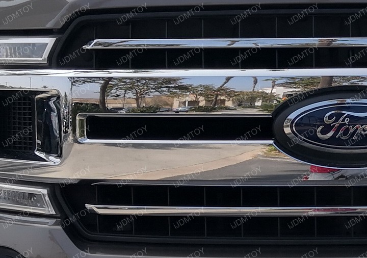 2018 Light Up F150 Install Kit Front Ford Bar Xlxlt Led Grill NO8PZ0Xnwk