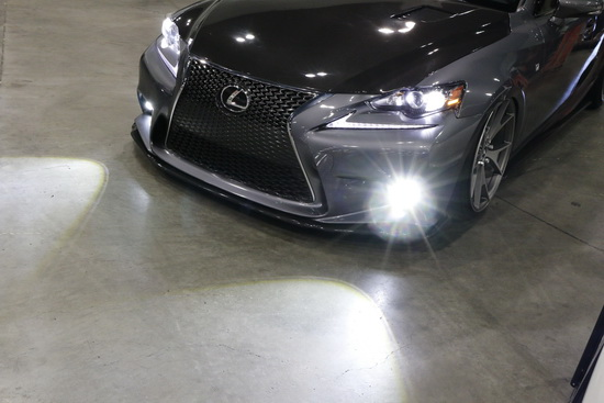 Lexus IS 350 LED Fog Light in AutoCon 2016